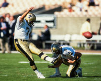 Morten Anderson, New Orleans Saints Stockbilder