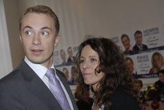 Morten messerschmidt & punt Wesmann Royalty-vrije Stock Foto's