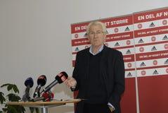 MORTEN OLSEN_HEAD COUCH DANISH NATIONAL FOOTBALL TEAM Stock Photo