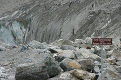 Morteratsch glacier Royalty Free Stock Photos