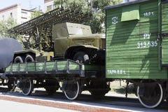 Mortero Katyusha Stalingrad, Rusia fotos de archivo libres de regalías