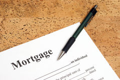 Mortgage Royalty Free Stock Image
