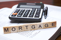 mortgage Imagens de Stock Royalty Free