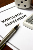 Mortgage Agreement royalty free stock photo