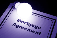 Mortgage Agreement Royalty Free Stock Images