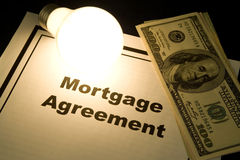 Mortgage Agreement Royalty Free Stock Image
