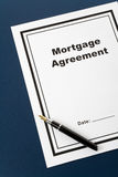 Mortgage Agreement Stock Images