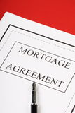 Mortgage Agreement Stock Photography