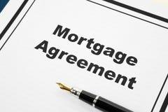 Mortgage Agreement Stock Photos