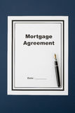 Mortgage Agreement Royalty Free Stock Photography