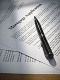 Mortgage application Royalty Free Stock Photography
