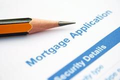 Mortgage  application Stock Photos