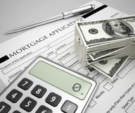 Mortgage application concept Stock Photo