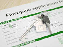 Mortgage Application Royalty Free Stock Photo