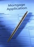 Mortgage Application Stock Image