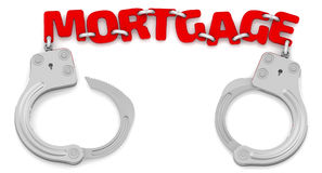 Mortgage as limiter of freedom Royalty Free Stock Photos