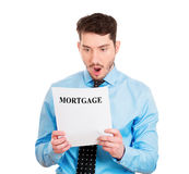 Mortgage bills Stock Photography