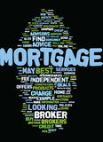 Mortgage Brokers Best Service Tips Text Background  Word Cloud Concept Royalty Free Stock Images