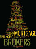 Mortgage Brokers For Home Loan Refinance Refinance Online Text Background  Word Cloud Concept Stock Photos