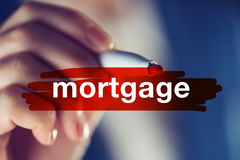 Mortgage, business concept Royalty Free Stock Images