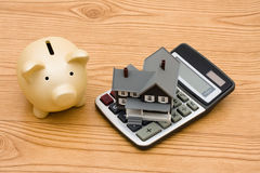 Mortgage Calculator Stock Photo