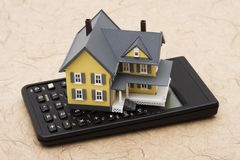 Free Mortgage Calculator Royalty Free Stock Photography - 5877877