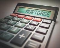 Mortgage Calculator Royalty Free Stock Photo