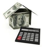 Mortgage calculator Royalty Free Stock Photos