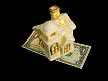 Mortgage for Christmas royalty free stock images