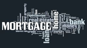Mortgage collage Stock Photo