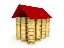 Mortgage concept 3d Royalty Free Stock Image