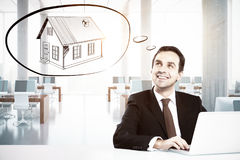 Mortgage concept Royalty Free Stock Photography
