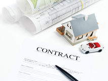 House contract Stock Images
