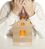 Mortgage Crisis Stock Photo