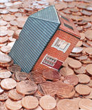 Mortgage debt Stock Image