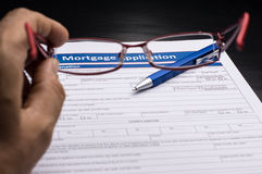 Mortgage Documents Royalty Free Stock Photos
