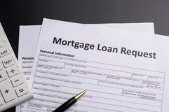 Mortgage Documents Royalty Free Stock Image