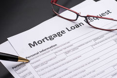 Mortgage Documents Royalty Free Stock Photography
