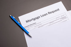 Mortgage Documents Royalty Free Stock Images