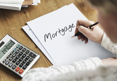 Mortgage Finance Banking Loan Debt Capital Cash Concept Royalty Free Stock Image