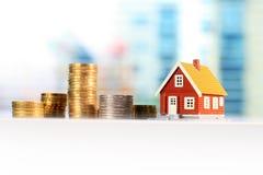Mortgage house concept Stock Photos