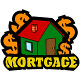 Mortgage icon Stock Images