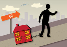 Mortgage Increase Stock Images