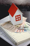 Mortgage, investment, real estate and property concept Stock Image