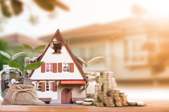 Mortgage loading and  property Stock Images