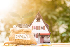 Mortgage loading and property Royalty Free Stock Image