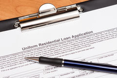 Mortgage Loan Application Royalty Free Stock Image
