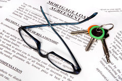 Mortgage loan application form Royalty Free Stock Image