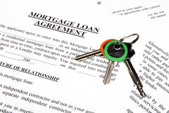 Mortgage loan application form Stock Photography