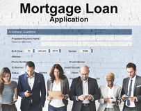 Mortgage Loan Application Registration Form Concept Stock Photo